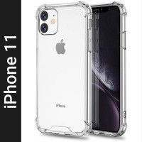 NSTAR Back Cover for Apple iPhone 11(Transparent, Shock Proof, Silicon)