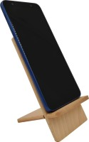 WOODHOUSE 1 Compartments Wooden Mobile Stand::Mobile Holder(Pale Cream)
