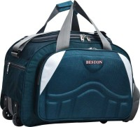SkySprit (Expandable) Fabric Travel Duffel Bags for Men and Women 60 L Duffel With Wheels (Strolley)