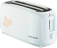 Morphy Richards AT 402 1400 W Pop Up Toaster(White)