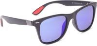 Specsmakers Wayfarer Sunglasses(Blue)