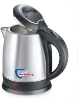 Wellberg Electric Kettle for 1.8 Litre Multipurpose Easy to Clean (Made in India) Electric Kettle(1.8 L, Silver)