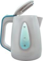 Orbon Stylish Wrinkled White 1.7 Litre 2200 Watts Electric Tea Kettle | Electric Tea Coffee Milk Soup Water Warmer Kettle | Egg Boiler | Noodle Maker | Multipurpose Kettle | Electric Ketali (White) Electric Kettle(1.7 L, White)