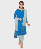 AMLAN Silk Woven Kurta & Churidar Material(Unstitched)