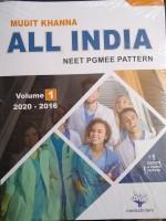 All India NEET Pgmee pattern Volume-1 ( 2020-2016 )(Paperback, Mudit Khanna)