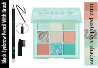 EVERERIN BEST 3 IN 1 SHIMMER+MATTE+GLITTER EYE SHADOW WITH EYEBROW BRUSH(2 Items in the set)
