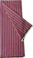 Queens Creation Striped Brown, Purple Lungi