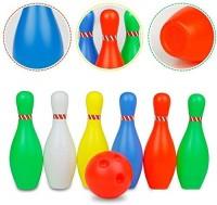 Shop & Shoppee Fun Bowling Set for Kids 6 Bowling Pin Sports Ball Play Indoor Family Games Bowling