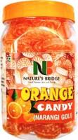 Nature's Bridge Orange Candy (Jar Pack) / Narangi Goli / Santra Goli (Khatti Meethi Goli) - 300 Gm Orange Candy(300 g)