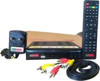 Ranjustad MPEG-4 HD Free To Air Digital Satellite Receiver Device (FSM401) Media Streaming Device(Black)