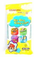 SAKURA Air Dry Non-Toxic Paper Clay-1pack of 100 GMS