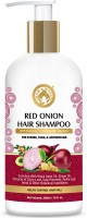 Mom & World Red Onion Hair Shampoo - With Redensyl And Natural DHT Blockers, For Strong, Thick And Lustrous Hair(300 ml)
