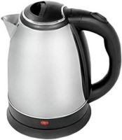 Shuaitech Hot Water Pot Portable Boiler Tea Coffee Warmer Heater Cordless Electric Kettle Electric Kettle Electric Kettle Electric Kettle(2 L, Silver, Black)