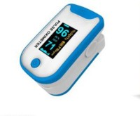Perfecxa Q2 Pulse Oximeter(White and blue)