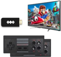 Clubics Latest Extreme Mini Game Box Video Game Player for Kids (620 Games) 1 GB with Contra(Black)