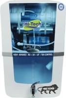 HI TECH ADVANCE 2498 12 L RO + UV + UF + TDS Control + Alkaline + UV in Tank Water Purifier(Blue)