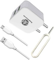 OTD Wall Charger Accessory Combo for Intex Aqua Raze, Intex Aqua Ring, Intex Aqua S3, Intex Aqua S7(White)