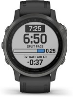 Garmin Fenix 6S Smartwatch(Black Strap, Regular)