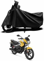 Vocabulary Two Wheeler Cover for Hero(Passion Pro i3S, Black)