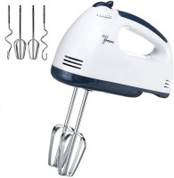HSR High Speed 300-Watt Hand Mixer with 7 Speed 300 W Hand Blender(White)