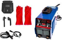 "ISC Advance IGBT Technology Electric ARC 200 Inverter MMA Type Welding Machine +16"" Long Hand Gloves Combo Inverter Welding Machine"