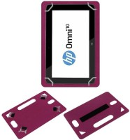 ACM Back Cover for Hp Omni 10(Pink, Grip Case)