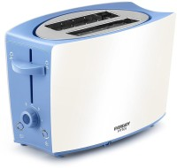 Eveready PT101 750 W Pop Up Toaster(Blue, White)