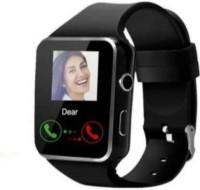 CRORA SMRT-X6-W-B-G-656604 Smartwatch(Black Strap, XL)