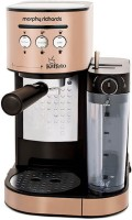 Morphy Richards Kaffeto 1350 W Milk Frother and Coffee Maker 6 Cups Coffee Maker(golden)