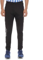 HOXTAN Printed Men Black Track Pants