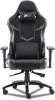 GREEN SOUL Monster Ultimate (S) Multi-Functional Ergonomic Gaming Chair (GS-734US) (Black & Grey) (Large Size) Fabric Office Executive Chair(Black, Grey, DIY(Do-It-Yourself))