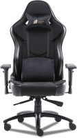 GREEN SOUL Monster Ultimate (S) Multi-Functional Ergonomic Gaming Chair (GS-734US) (Full Black) (Large Size) Fabric Office Executive Chair(Black, DIY(Do-It-Yourself))