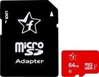 Flipkart SmartBuy Memory card 64 GB MicroSD Card Class 10 95 MB/s  Memory Card(With Adapter)