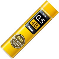 PENTEL Graphite 0.5mm, 4B Pencil(Pack of 40)