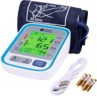 Sahyog Wellness LZX-B803 Fully Automatic 3 Color Display Upper Arm Digital LZX-B803 Bp Monitor(Blue)