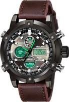 Benling 1005-Black Dial Analog Digital Sports Watch For Men's BL-1005-ANA-DIGI-TAN Analog-Digital Watch  - For Men