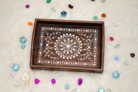 JewelsWood WOODEN SERVING TRAY Tray(Tray)