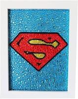 House of Queens Superman Diamond Painting US Captain Logo Diy 5D Diamond Painting Batman Embroidery 3 Sizes Shining Diamond Rhinestone 20*15CM