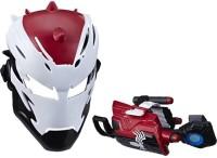 MARVEL Man Maximum Venom Toy Venomized Iron Man Set, Includes Venomized Iron Man Mask, Dart Repulsor, For Ages 5 And Up(Multicolor)