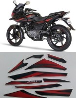 HRBull Sticker & Decal for Bike(Black, Red)