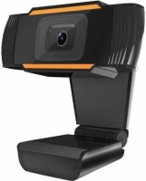 OSRAY Webcam with inbuilt microphone hd 720p web camera for online classes video call conferencing video chat hd webcams plug and play feature  Webcam(Black)
