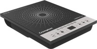 Crompton Instaserver_1500 Induction Cooktop(Black, Silver, Push Button)