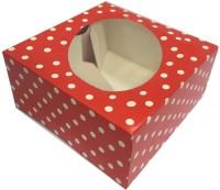 citc Cake Box Cardboard Cake Packing Packaging Box(Pack of 10 Red)