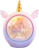 The Bling Stores Cartoon Unicorn LED Night Light For Kids Baby Children Nursery Lamps Animal Bedside Lamps Bedroom Decor Christmas Birthday Gift Night Lamp(13 cm, Multicolor)