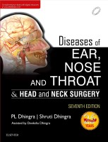 Diseases of Ear, Nose and Throat(English, Paperback, Dhingra P. L.)