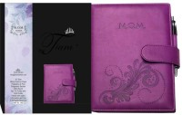 Tiara Diaries Pregnancy & First Year Planner (Wine) A5 Diary Ruled 140 Pages(Multicolor)