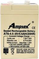 Amptek 6v 4.5amp battery Flooded Solar Battery(6 V)