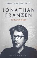 Jonathan Franzen(English, Hardcover, Professor Weinstein Philip)