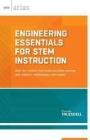 Engineering Essentials for STEM Instruction(English, Paperback, Truesdell Pamela)