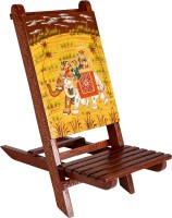 View Rajrang Ethnic Baby chair Bamboo Chair(Finish Color - Yellow) Furniture (Rajrang)